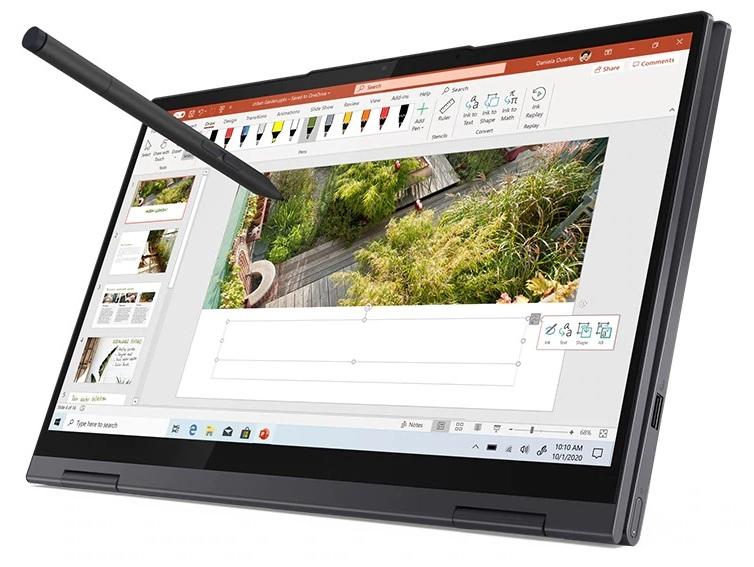 Lenovo Yoga 7i 14 Inch Tiger Lake Laptop Review Core I5 1135g7 Debut Notebookcheck Net Reviews
