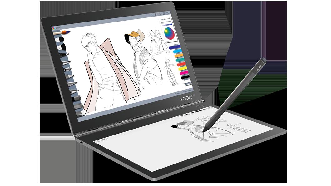Lenovo Yoga Book C930 (i5-7Y54, LTE, E-Ink) Convertible