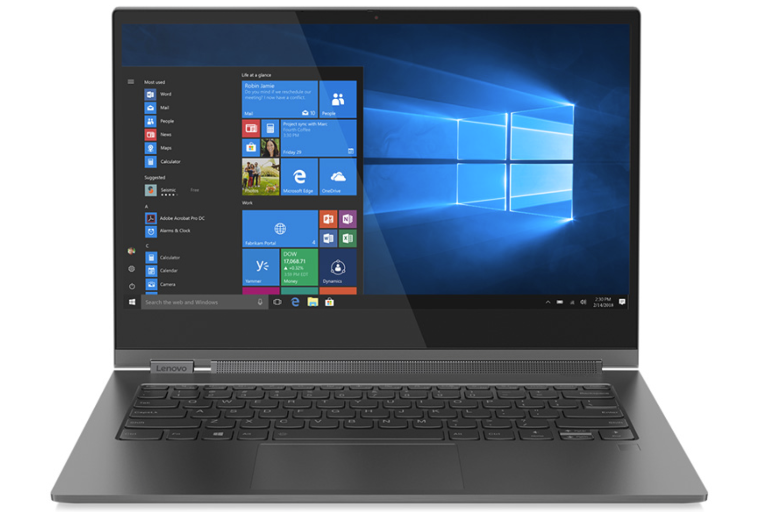 Lenovo Yoga C930-13IKB (i5-8250U, FHD) Convertible Review -  NotebookCheck.net Reviews