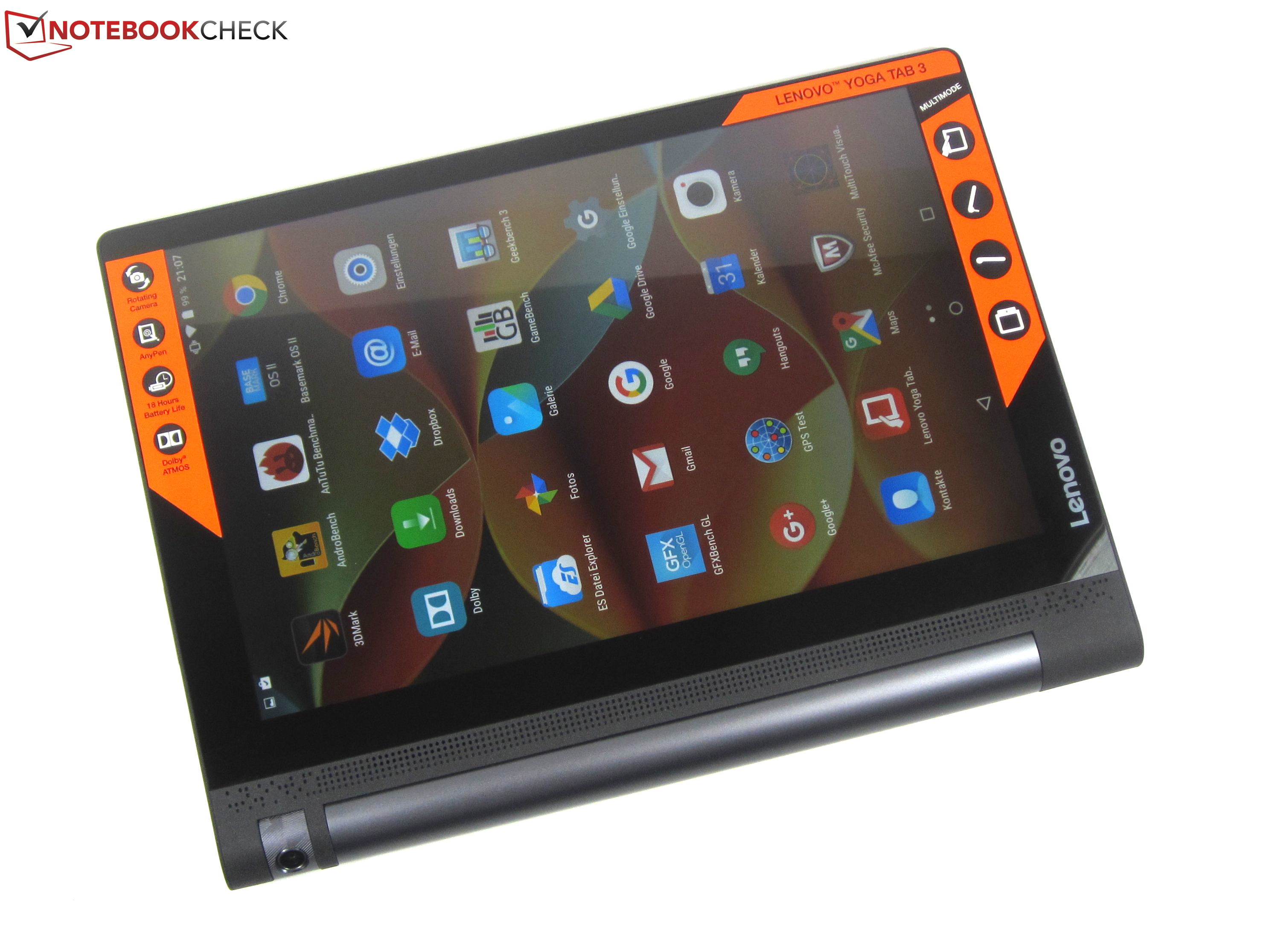 Tablet Lenovo Yoga 3 Pro: review, reviews 17