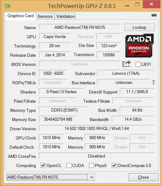 AMD RADEON R9 M375 DOWNLOAD DRIVERS