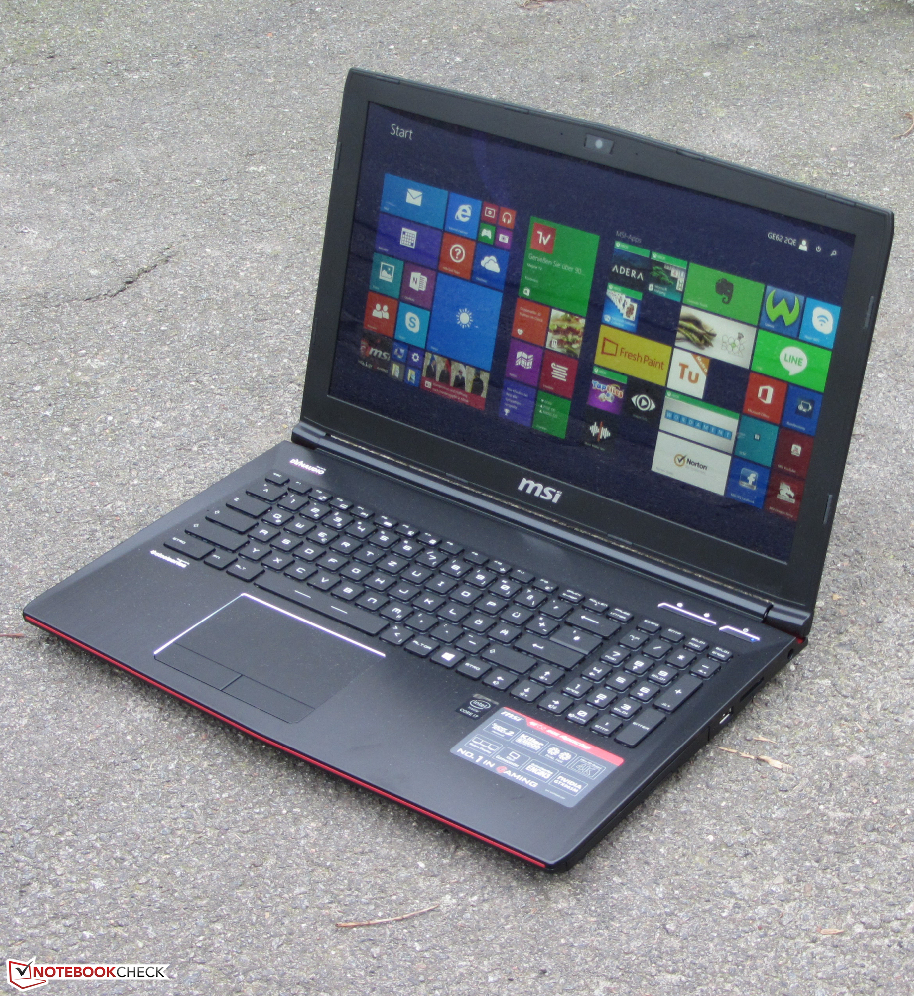 MSI GE62 GTX 970M Notebook Review  NotebookCheck.net Reviews