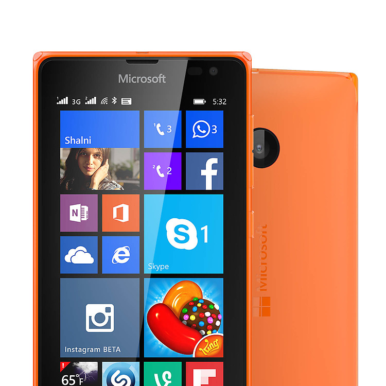 pretty nice 885a4 bb639 Microsoft Lumia 532 Smartphone Review - NotebookCheck.net Reviews