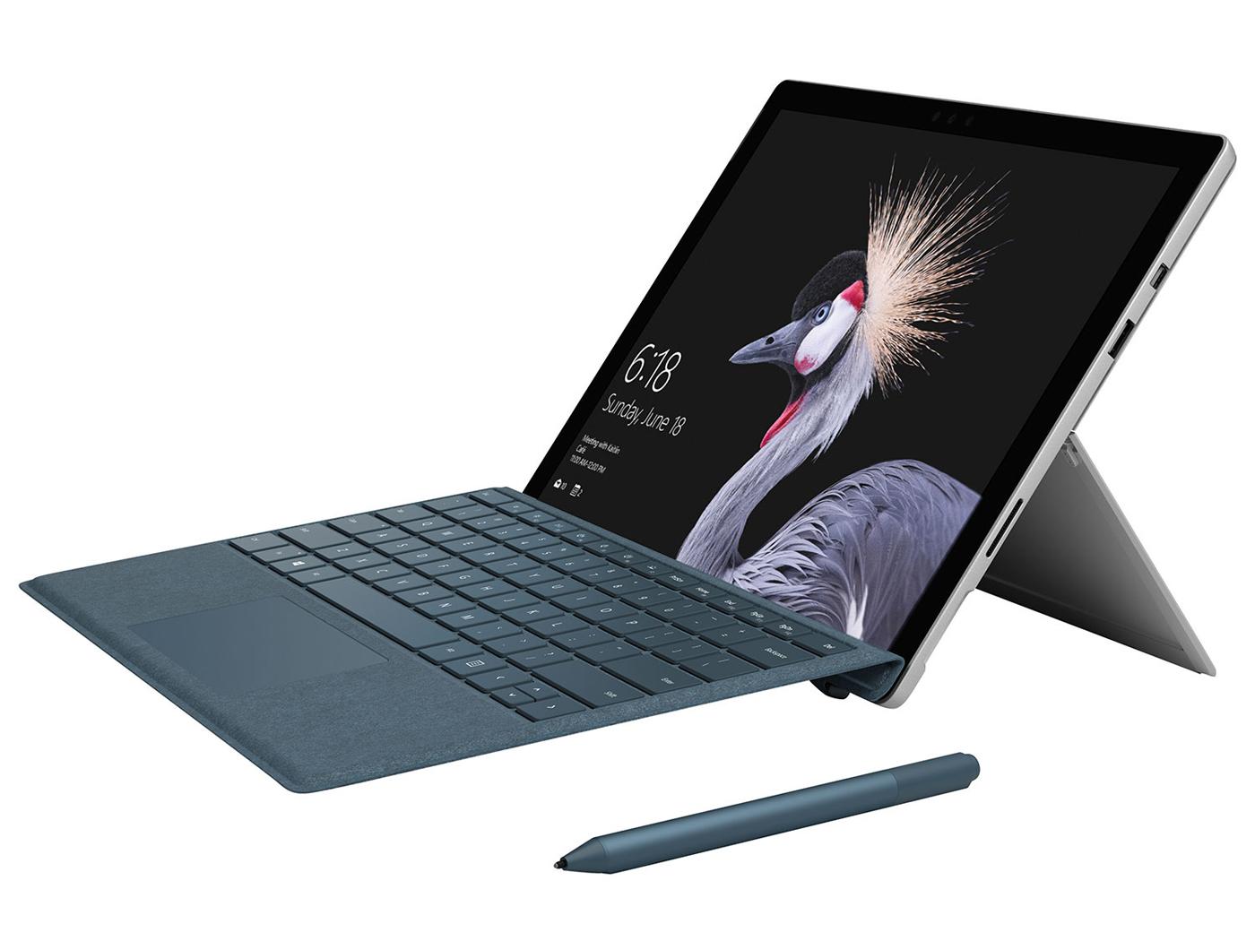 Microsoft Surface Pro 2017 I5 7300u 256 Gb Convertible Review Computer Geek Circuit Board Neon Yellow Notebook Reviews