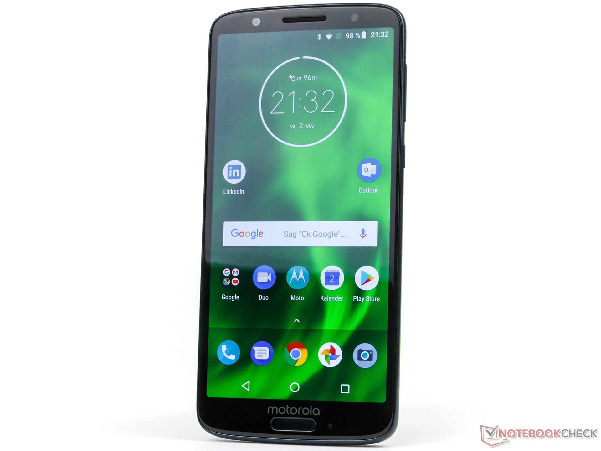Motorola Moto G6 Smartphone Review - NotebookCheck.net Reviews
