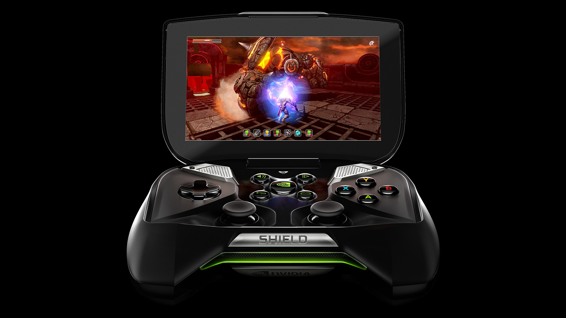 Portable Exhibition Games : Review nvidia shield portable handheld notebookcheck