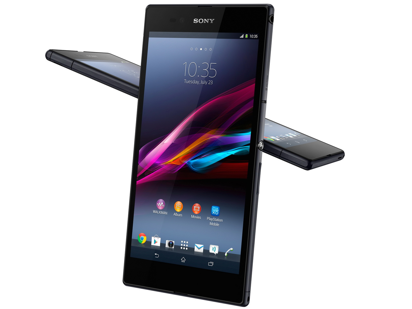 Usb Charging Hub >> Sony unveils 6.4-inch Xperia Ultra phablet and SmartWatch 2 - NotebookCheck.net News
