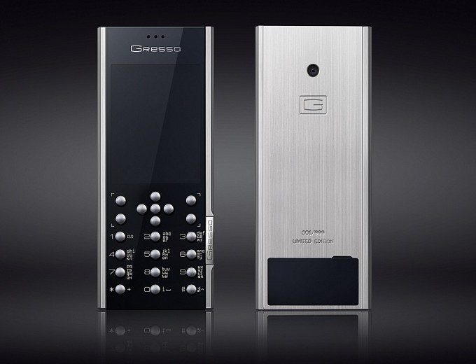 Gresso Azimuth A1 Is World S First Luxury Dual Sim Phone Notebookcheck Net News