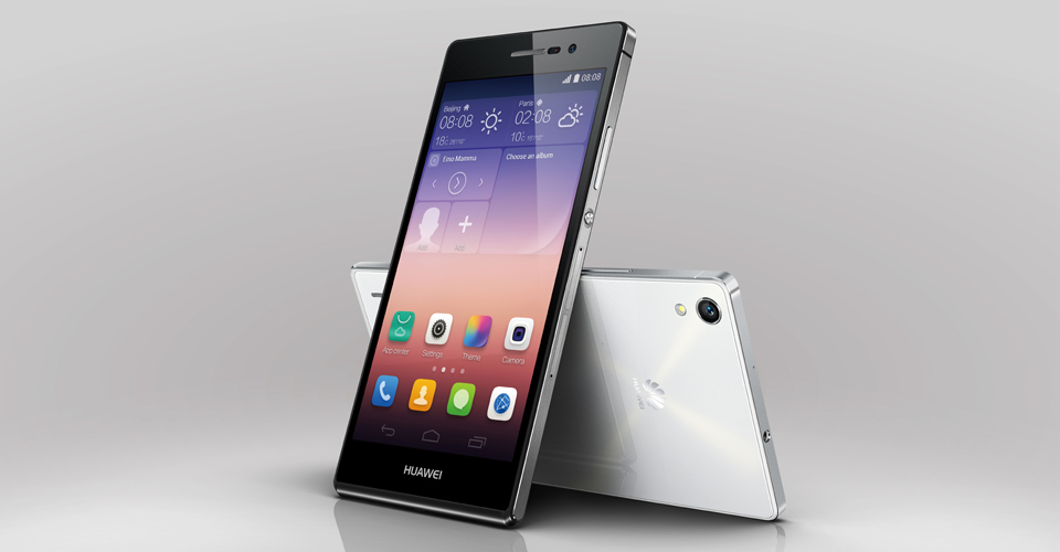 Huawei Ascend P7 is now official