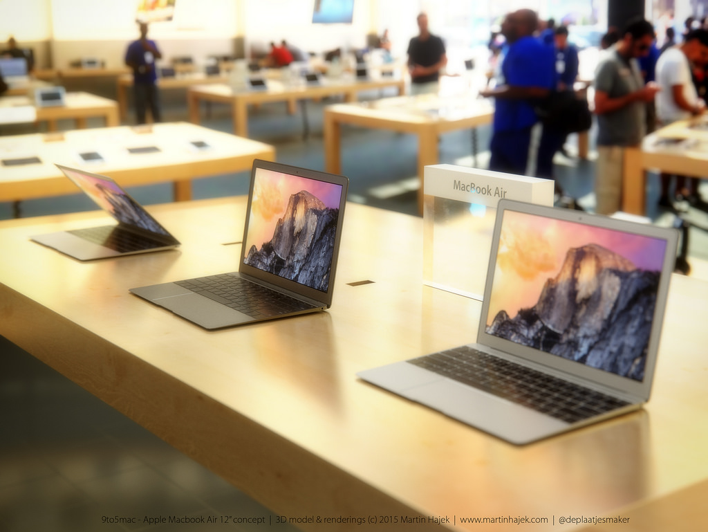 Macbook Air Gets A Redesign Might Appear In Gold And