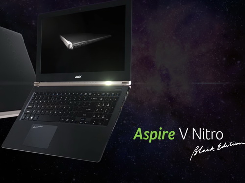 Acer Aspire V17 Nitro Black Edition to be updated with GTX