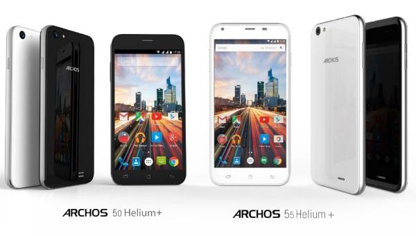 archos unveils 50 helium plus and 55 helium plus android. Black Bedroom Furniture Sets. Home Design Ideas