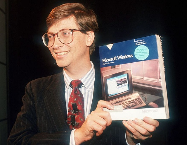 Microsoft Windows is now 30 years old