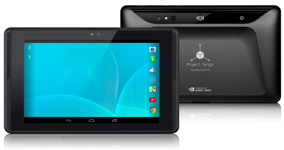 Google unveils Project Tango tablet