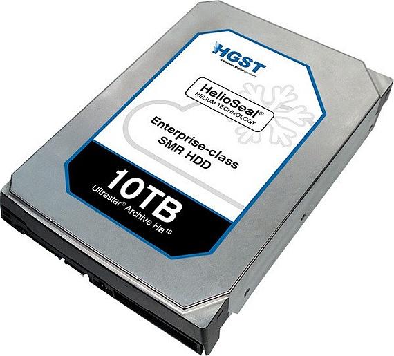 HGST Announces 10 TB Ultrastar Archive Ha10 SMR Hard Drive