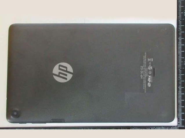 HP 10 G2 Android tablet spotted at FCC