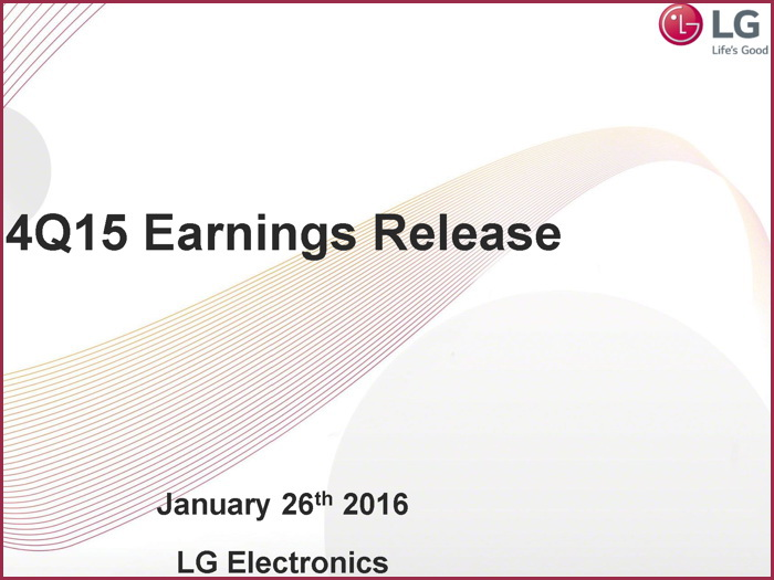 LG reporting falls in profits and revenue for all of 2015 ...
