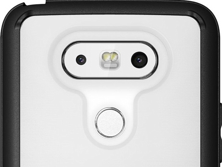 LG G5 cases reveal dual rear cameras with dual LED Flash