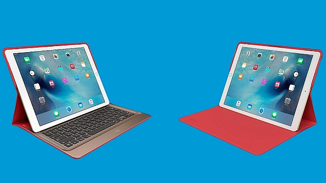 7369a15a25c Logitech Logi CREATE accessories for iPad Pro. The backlit keyboard case  with Smart Connector retails for $149.99 USD while the protective ...