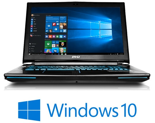 msi gaming laptops now shipping with windows 10 notebookcheck net news
