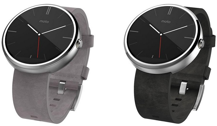 Moto 360 stone leather replaces gray leather model ...