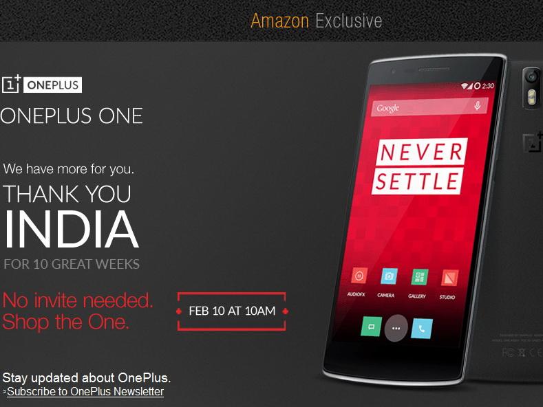 Invite Oneplus One
