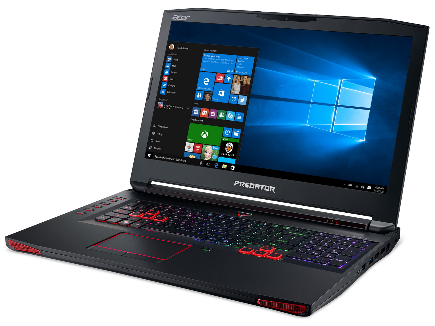 Spectrum Internet Options >> Acer refreshes Predator 15 and Predator 17 gaming notebooks - NotebookCheck.net News