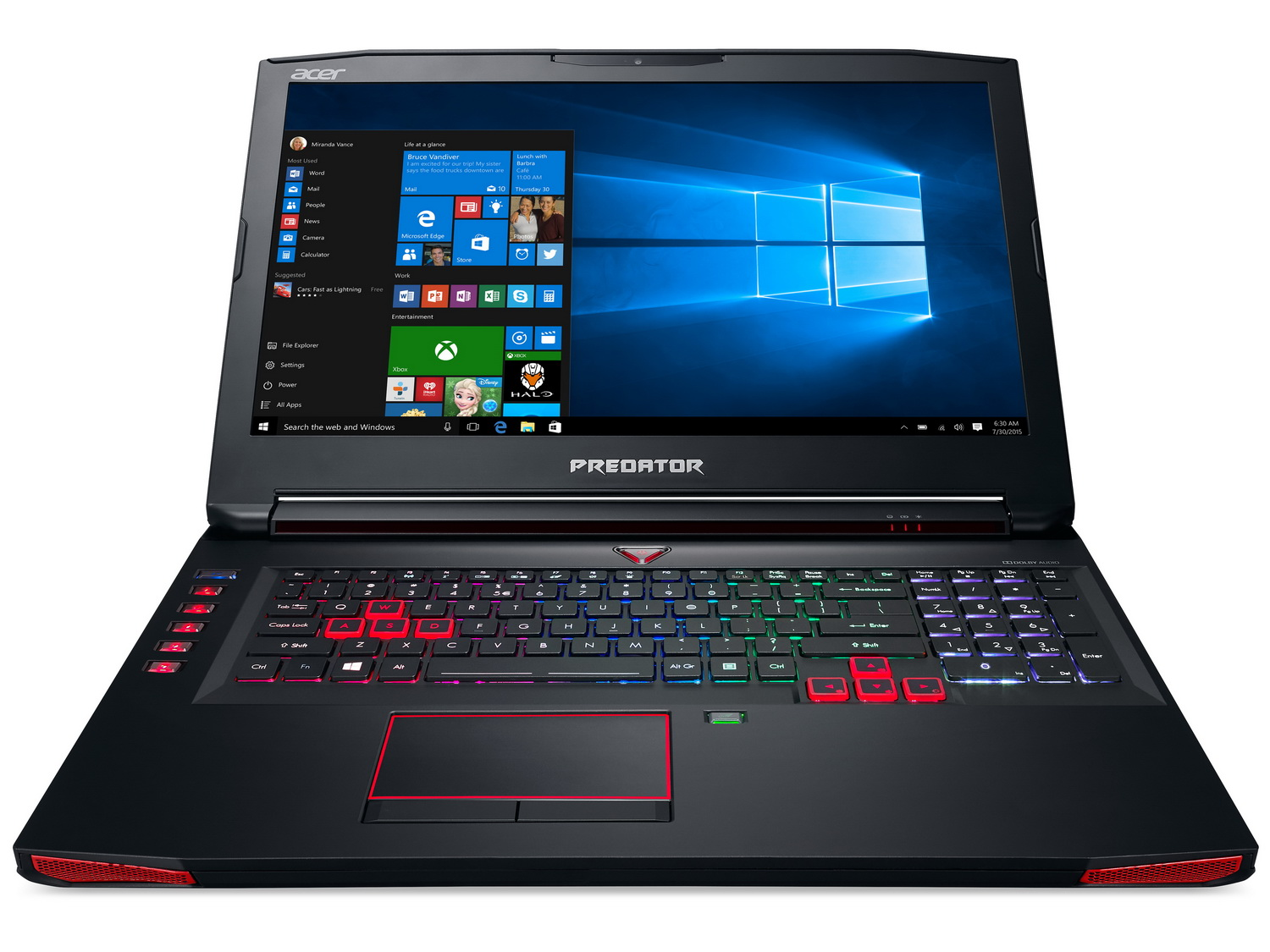 Acer Refreshes Predator 15 And Predator 17 Gaming