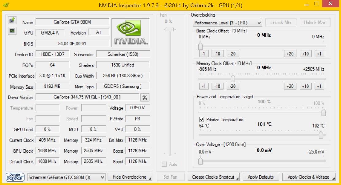 Nvidia seeks to prevent mobile GPU overclocking through a