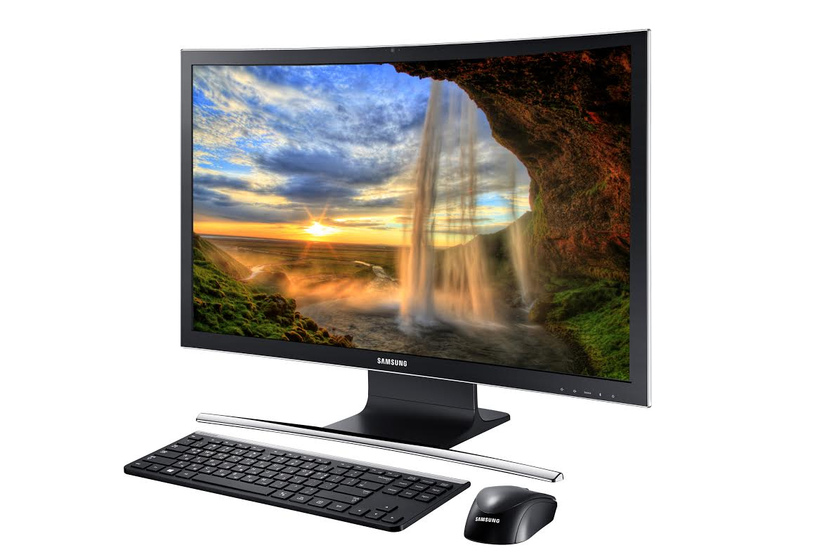 Samsung introduces the ATIV One 7 curved All-In-One PC ...
