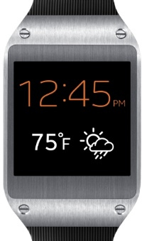 Samsung Galaxy Gear smartwatch, now loaded with Tizen OS