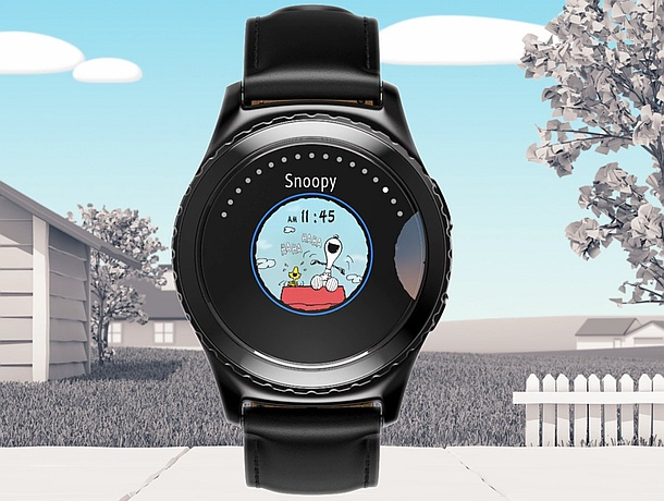 Samsung Gear S2 gets new Snoopy watch faces