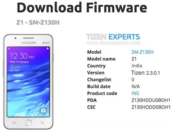 Samsung Z1 gets minor Tizen update - NotebookCheck net News