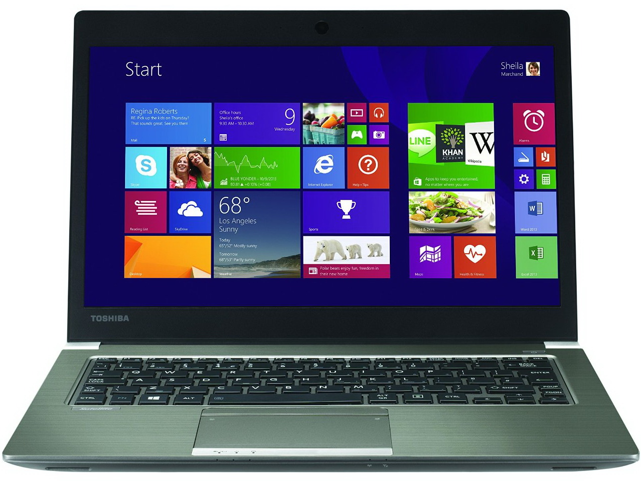 Toshiba Unveils Broadwell Based Satellite Z30 B 100 Ultrabook