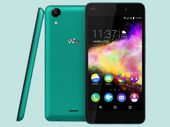 wiko rainbow up smartphone now available for 160 euros news. Black Bedroom Furniture Sets. Home Design Ideas