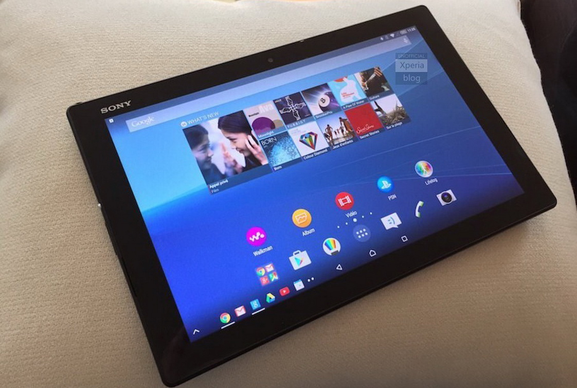 sony xperia  tablet   android nougat update