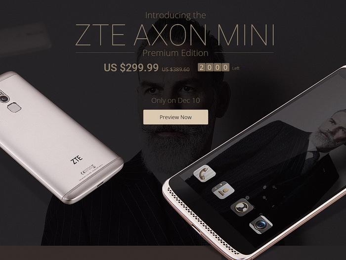 ZTE Axon mini Premium Edition now available ...