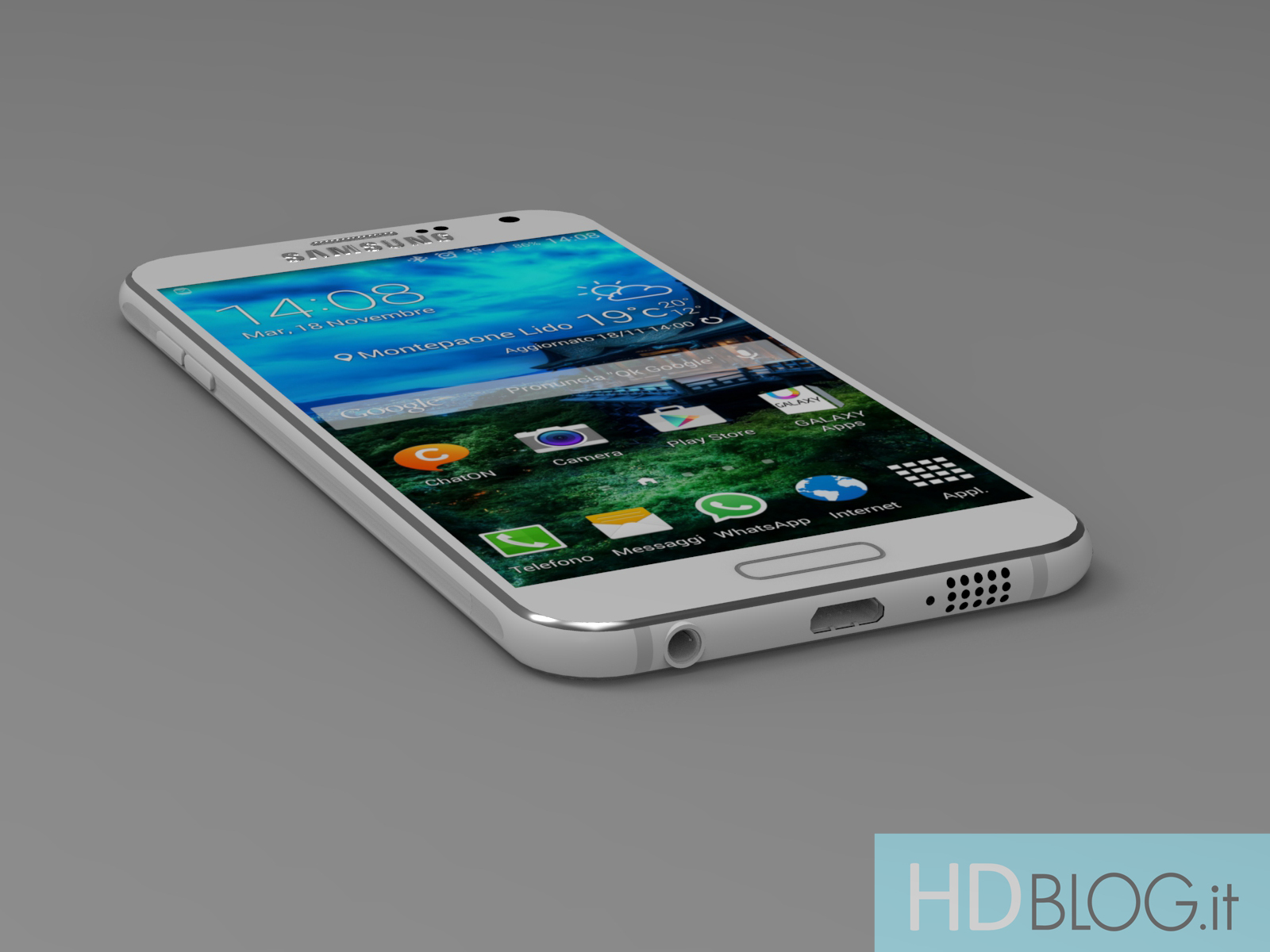 This could be the upcoming Samsung Galaxy S6 ...