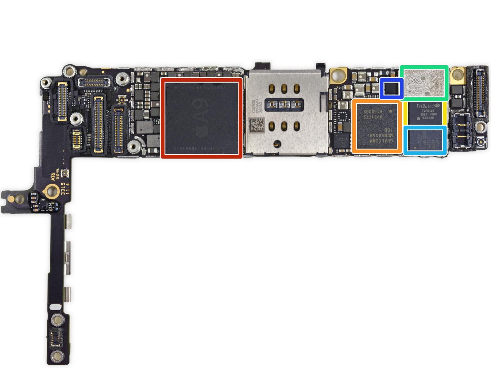 new concept 948a3 54826 Apple iPhone 6s Plus gets the teardown treatment - NotebookCheck.net ...