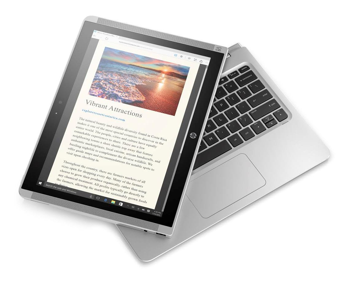 Hp Unveils 12 Inch Pavilion X2 Consumer Detachable Notebookcheck Net News