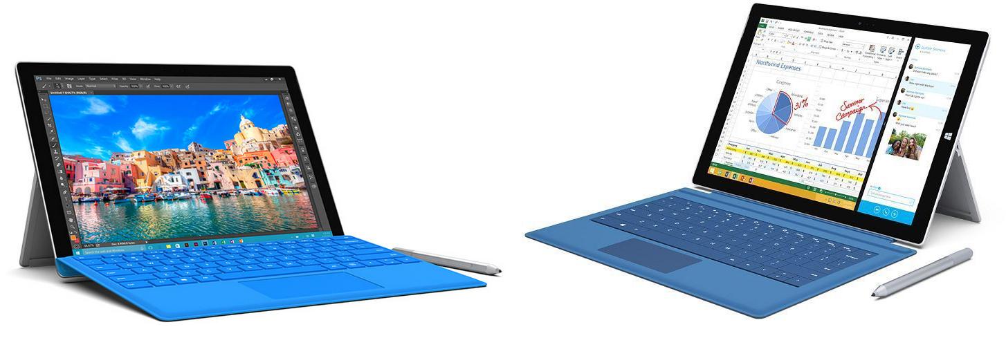 Surface Pro 4 Vs Surface Pro 3 Comparison Notebookcheck Net News