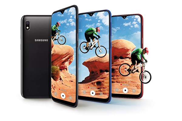 A new version of the Samsung Galaxy A10 with a fingerprint