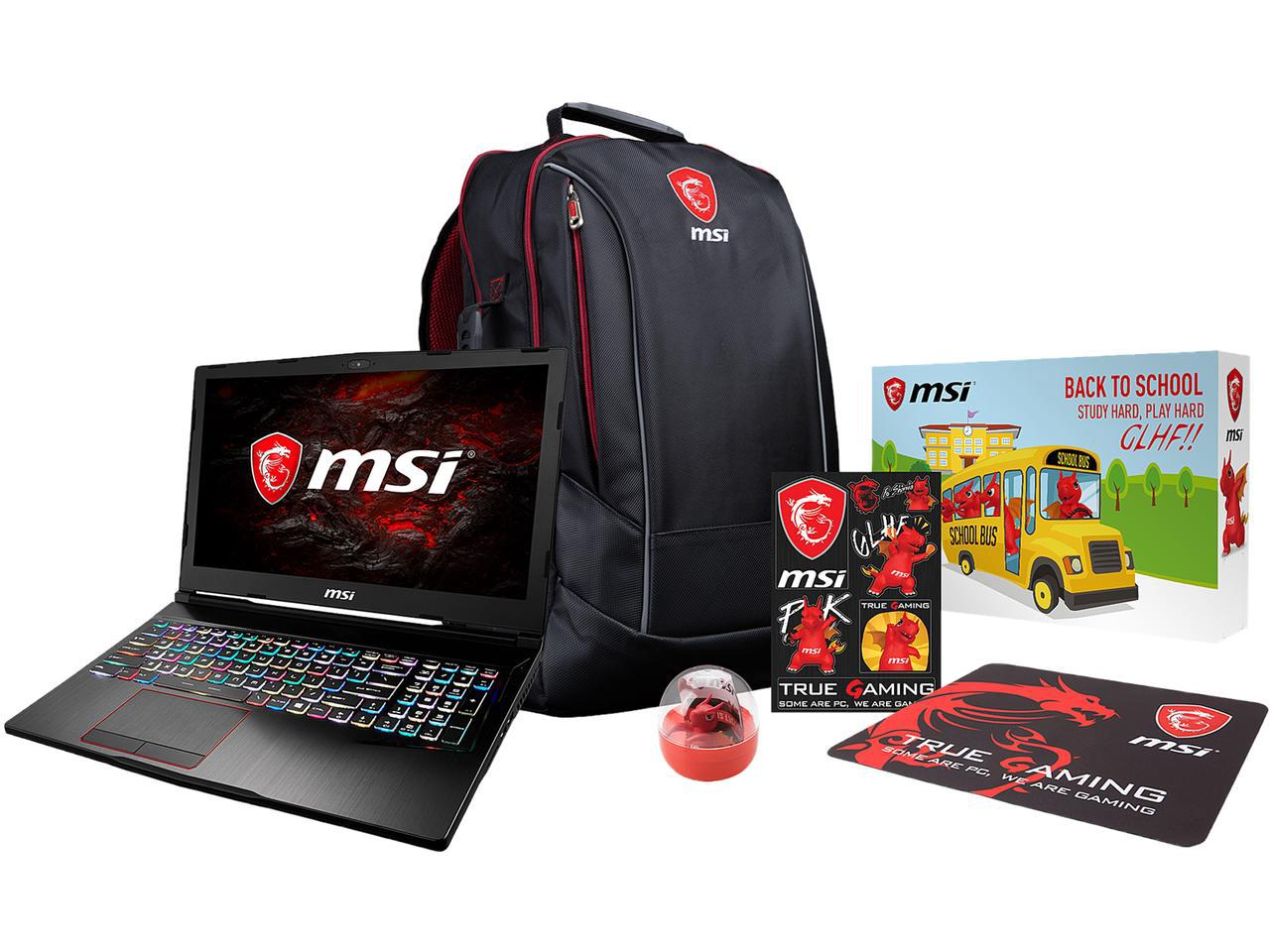 Msi Notebooks Now Shipping With Freebies For Back To