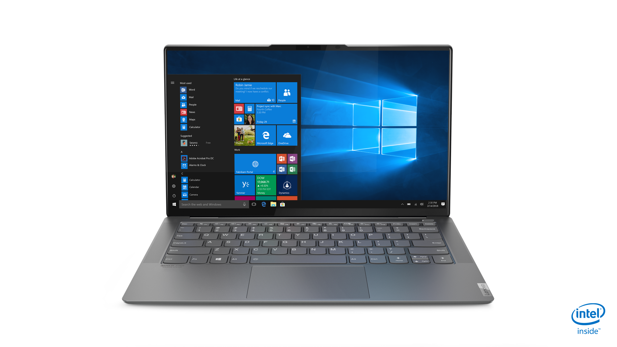 Lenovo Yoga S940: Ultrathin premium Yoga laptop includes a 4K HDR LCD with rounded glass-edges