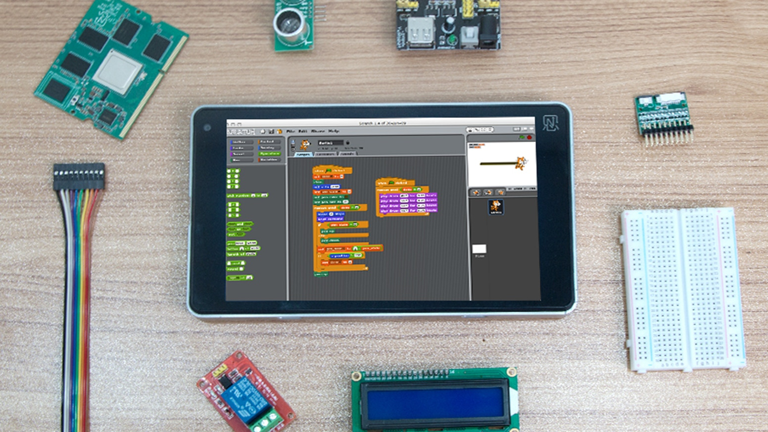 Ntablet: A tablet that comes with an interchangeable processor and that should also appeal to Raspberry Pi hobbyists