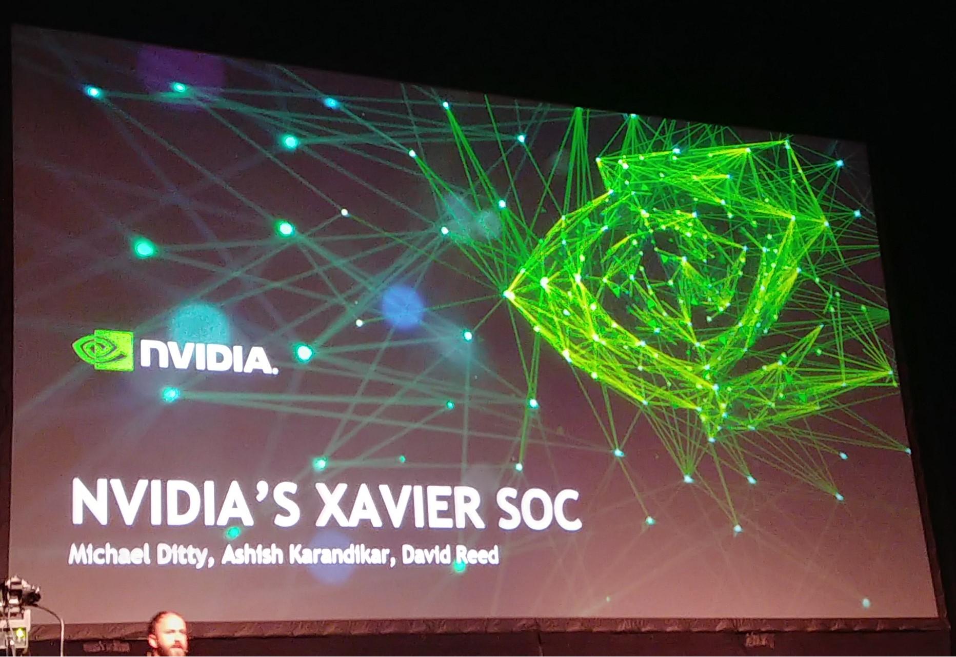 nvidia presents improved xavier soc for autonomous