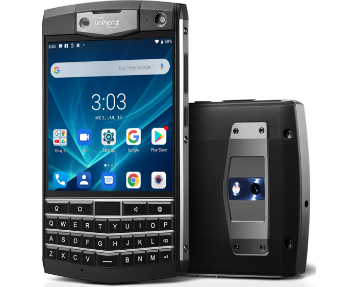 Unihertz announces Titan rugged qwerty smartphone for BlackBerry