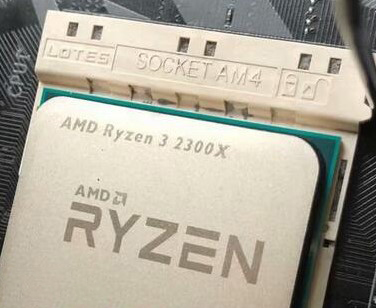 AMD's Ryzen 3 2300X budget CPU OC potential and Cinebench