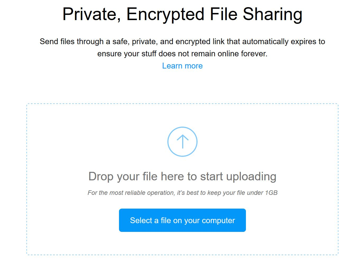 Mozilla tests file sharing service that deletes files after one