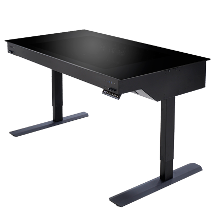 Lian Li Standing Desk Computer Case Now Available At Us 2100 Msrp